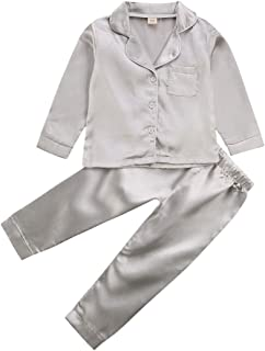 Newborn Baby Girls Boys Button-Down Sleepwear Loungewear...