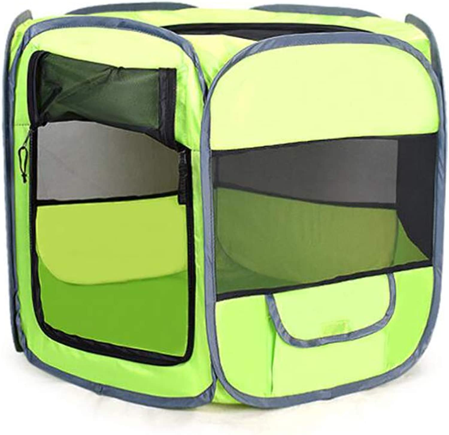 Folding Pet Tent,Car Kennel 600D Oxford Cloth Cat Dog Delivery Room Pet Fence,Suitable for Indoor and Outdoor Use,XS