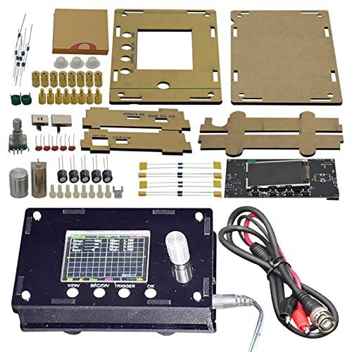 Piezas de osciloscopio DSO328, Mini probador Digital, Kit de Bricolaje de sonda de 12 bits 1Msps, con una Funda de cocción Negra, para Hacer su Propio osciloscopio