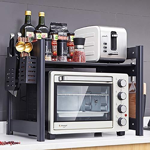 Wmeat-S Estante de Microondas, Multi-función Soporte para microondas Estante de Cocina Almacenamiento