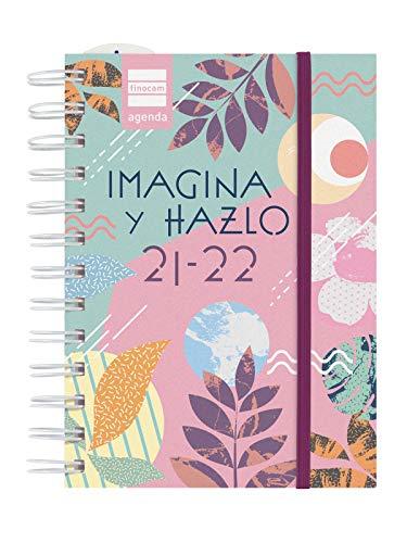 Finocam Agenda 2021 2022 1 Día página Septiembre 2021, Junio 2022 10 meses y Julio/Agosto resumidos 8º, 120x169 Mini-Institut Hazlo Español