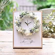結婚式 両親プレゼント 「クロックブランリース」| 時計 両親ギフト 自分ギフト お揃いギフト 記念品 お祝い ギフト プレゼント