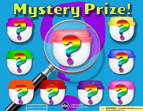 "2"" Mystery Mix Premium Assorted Toy Filled Capsules (1000 Count) + BONUS"
