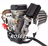 Carburetor & Air Filter for GY6 50cc Verucci...