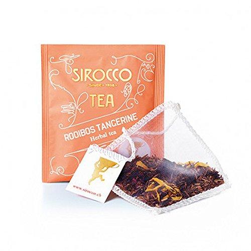 SIROCCO TEE - ROOIBOS TANGERINE - Organisches Rotbusch-Tee mit Tangerine - 20 Teebeutel