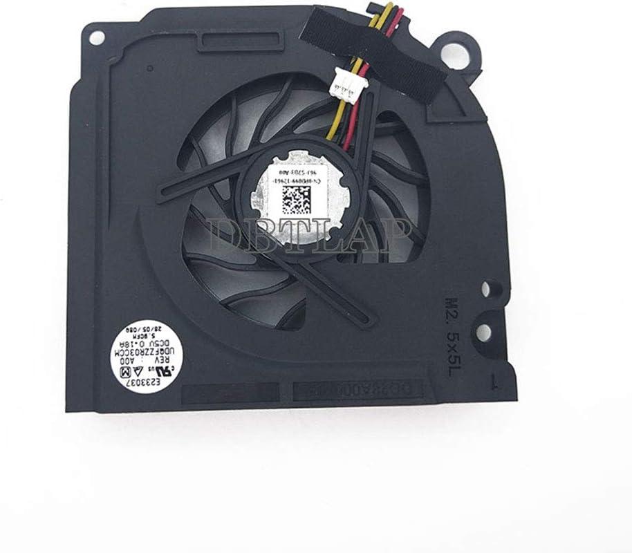 DBTLAP Laptop CPU Fan Compatible for DELL Inspiron 1525 1526 1527 1545 PP41L D630 D620 D631 PP18L F0121 PP29L DFS531205M30T