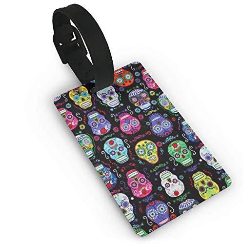 Equipaje Accesorios Accesorios de Viaje Etiquetas para Equipaje Cute Tiger Galaxy Luggage Tag Travel ID Label Leather for Baggage Suitcase Travel Accessories Bag Name Tags
