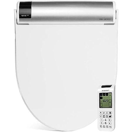 Bio Bidet Bliss BB2000 Elongated White Smart Toilet Seat, Premier Class, Unlimited Warm Water, Vortex Wash