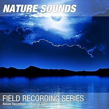 Nature Recordings - Village at night