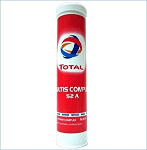 TOTAL Lubricating grease COMPLEX S2A Semi synthetic multi purpose extreme pressure high temperature lithium complex grease 0 4KG