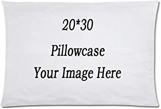 PONK Custom Design Photo or Text Outdoor/Indoor Throw Pillowcase, Personalized Pet Photo Pillow, Wedding Keep Throwing Pillow, Birthday Present, Memorial Gift
