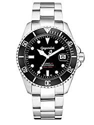 Gigandet Men's Watch Automatic Analogue with stainless steel bracelet Sea Ground G2-002