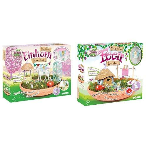 TOMY My Fairy Garden Spielzeugset - Magischer Einhorn-Garten & Spielen, 1 x Set Einhorn Garten inkl....