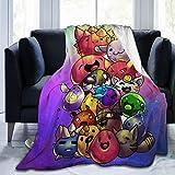 Otikiu Sl-IME Fuzzy Blanket Ra-ncher Ultra Soft Warm Lightweight Throw Blanket for Couch Beding 80' X60
