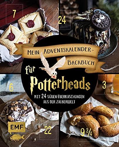 Mein Adventskalender-Backbuch für Potterheads: Mit 24 süßen Überraschungen aus der Zauberwelt – Mit perforierten Seiten zum Auftrennen