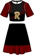 BNHA Asui Tsuyu Uraraka Cosplay Costume My Hero Academia Crop Top Dress Cheerleader Uniform