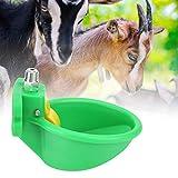 Redxiao Bebedero automático, comedero para Aves de Corral, Agua Potable para Ganado, Cuenco de Agua, Cuenco de Agua para Vacas/Cerdos/ovejas/Caballos, jardín para Granja, Fuente de Agua para