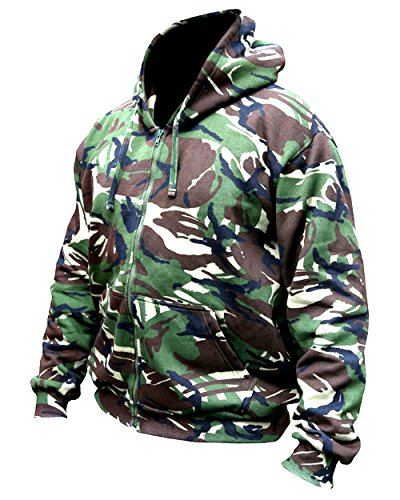 Kombat UK - Sweat-shirt à capuche - Homme - - DPM Camo - moyen