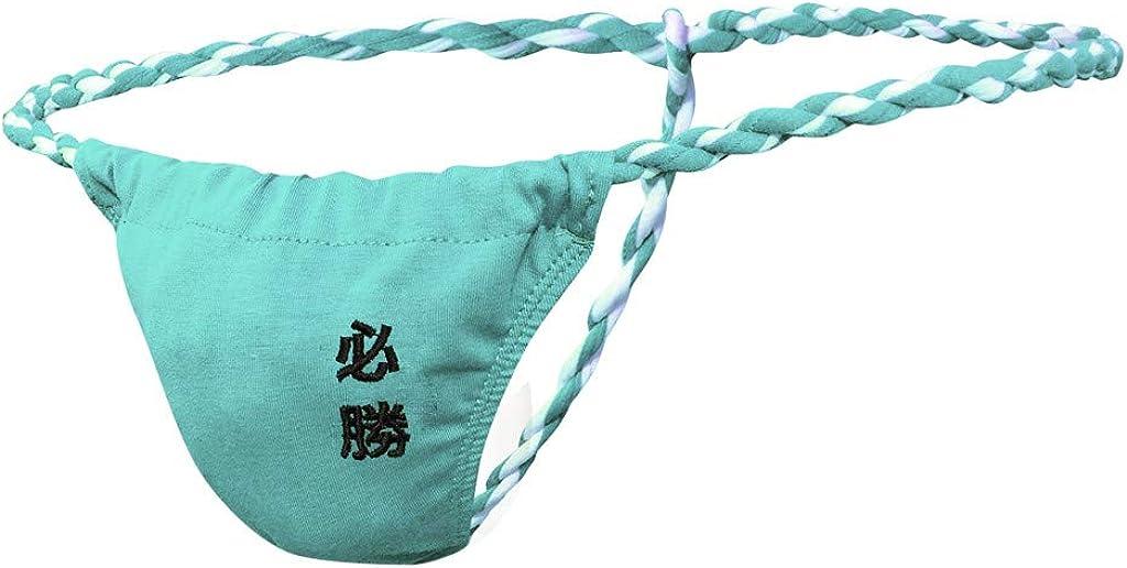 Gergeos Sexy Men's T Back Pouch Thongs G-String Underwear Jockstrap Boxer Briefs Underpants Bikini