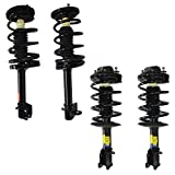 Detroit Axle - Front & Rear Strut with Spring Assembly Replacement for Dodge Plymouth Neon [Excluding SRT-4 & ACR Models] - 4pc Set