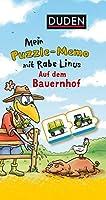 Mein Puzzlememo mit Rabe Linus - Auf dem Bauernhof
