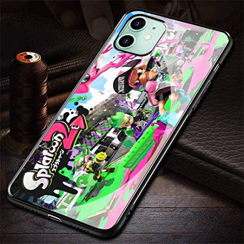 HZZAWDHL Funda iPhone 12 Case Case/Funda iPhone 12 Pro Case Tempered Glass Phone Case Vocal Oid Lu Ka 2Nb R-021