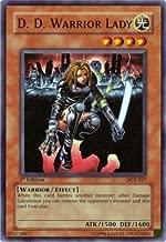 Yu-Gi-Oh! - D.D. Warrior Lady (DCR-027) - Dark Crisis - Unlimited Edition - Super Rare