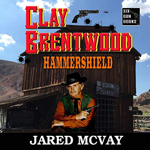 Hammershield  audiobook cover art