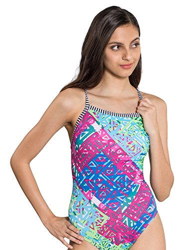 Dolfin Uglies Swimsuit V-2 Back | AMZ9502L (24, Indio)