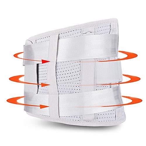 ZFF Soporte Lumbar Cinturón Ajustable Compresión Y Transpirable- para...