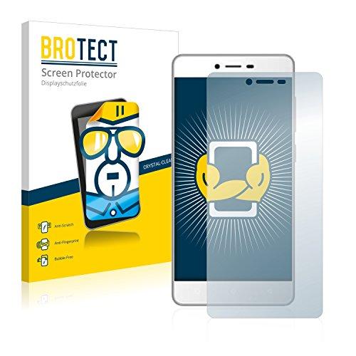 BROTECT Schutzfolie kompatibel mit Gionee F103 (2 Stück) klare Bildschirmschutz-Folie