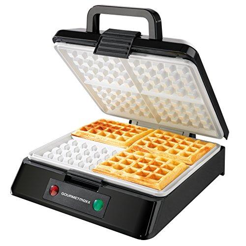 GOURMETmaxx 02651 Macchina Per Waffle | Waffle Maker |...