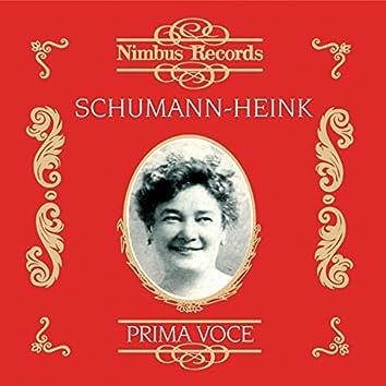 Ernestine Schumann-Heink (Recorded 1906 - 1929)