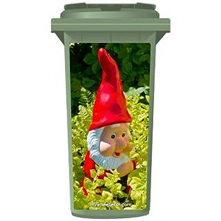 Gnome Wheelie Bin Stickers -  Sticker Panel