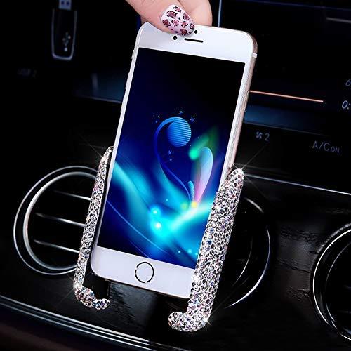 EING - Soporte para teléfono móvil para coche con rejilla de ventilación, soporte ajustable para teléfono para pantalla GPS, soporte para teléfono con panel de 360°