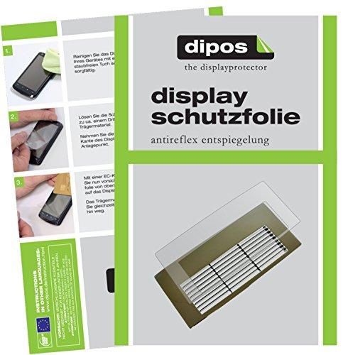 dipos I 2X Schutzfolie matt kompatibel mit Jura Z- Serie Z6 + Z8 Tropfblech Folie Displayschutzfolie