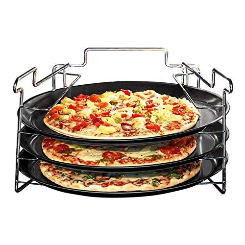 Pizzabakset 4 delig non stick
