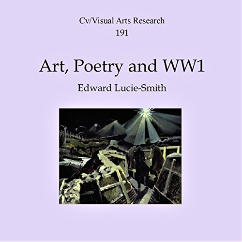 Art, Poetry and WW1 audiobook cover art