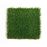 Ping Prato Artificiale Erba All'aperto Altezza Pila 35mm Alta Densità con Fori di Drenaggio Decorazione Verde del Campo da Giuoco del Giardino Pensile 5 Taglie (Color : 2m×3m)