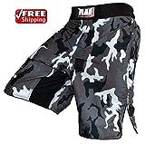 Pantalones cortos Rad, para boxeo, artes marciales mixtas, Grappling, UFC, Kick Boxing,...