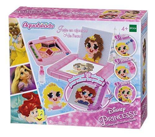 Aquabeads - Le Coffret Les Princesses Disney - 31029 - Coffret - Loisirs Créatifs