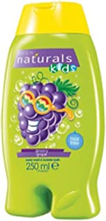 Avon Naturals Kids Groovy Grape Gel & baño de espuma 250 ml