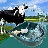 QINGQING Automatische Trinkschale für Rinder,Trinknapf mit Schwimmerventil,4L...
