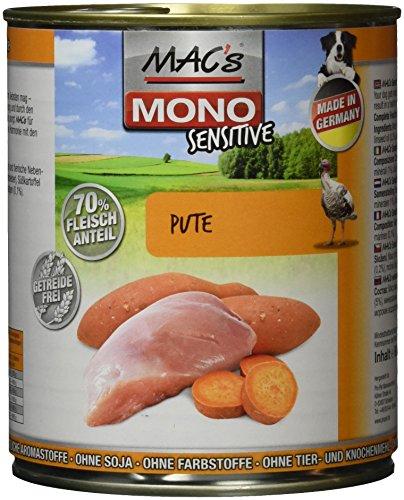 MAC's Mono Sensitive Pute, 6er Pack (6 x 800 g)