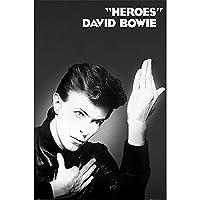 DAVID BOWIE デヴィッド・ボウイ (追悼5周年) - HEROES/ポスター 【公式/オフィシャル】