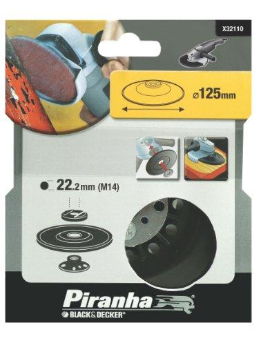 Piranha Flexon schuurschijf, 115 mm schijfdiameter, 22 mm spilschroefdraad, voor haakse slijpers 125 mm
