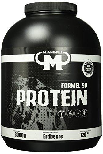 Mammut Formel 90 Protein, Erdbeere, 3000 g Dose