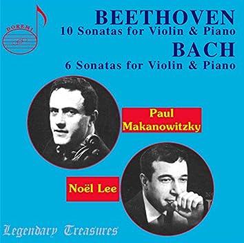Paul Makanowitzky: Beethoven & Bach Violin Sonatas