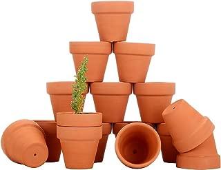 COCOMOON Mini Terra Cotta Flower Pots, 28 Pcs -Count Terracotta Pots, 2 -inch Mini Flower Pots with Drainage Holes,Cacti & Succulent Plants Terra Cotta Pots