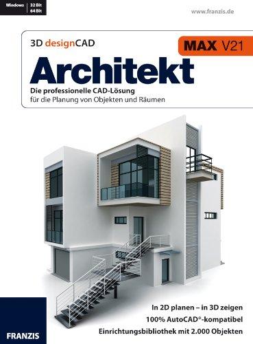 Franzis Architekt 3D Design CAD Max V21 Professional